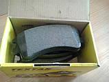 Тормозные колодки Textar (страна Германия) - дисковые, барабанные, передние и задние, фото 4