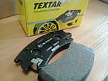 Тормозные колодки Textar (страна Германия) - дисковые, барабанные, передние и задние, фото 8