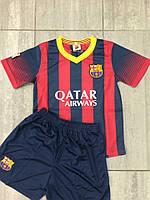 Форма футбольная детская Барселона домашняя 2014-2015