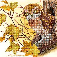 """Схема для вышивания бисером на художественном холсте """"Сказки леса"""""""
