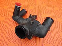 Корпус термостата б/у для Citroen Jumper 2.2 HDi. 01.2006-. Ситроен Джампер 2,2 ХДИ.