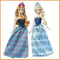 Набор кукол Анна и Эльза Холодное сердце / Anna & Elsa Frozen Disney (Mattel®)