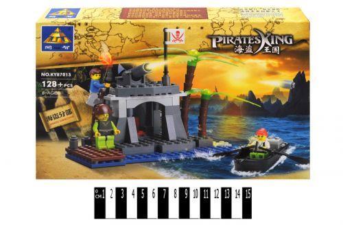 """Конструктор """"Пиратский остров"""" (129 деталей)"""