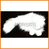 Мягкая игрушка Кот белый