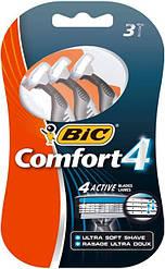 Станок для бритья BIC комфорт 4 (3шт)