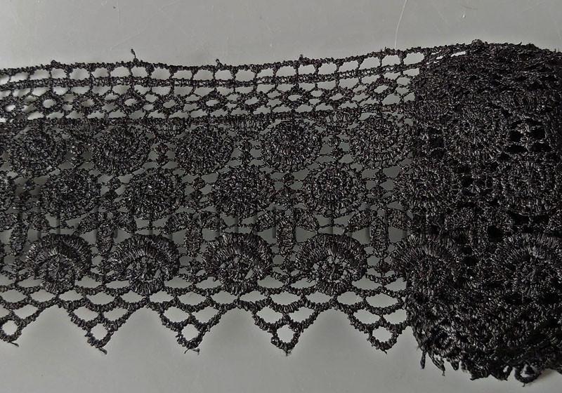 Кружево черное 9,0см/10 ярд арт.С