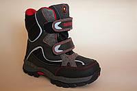 Детские ботинки для мальчика термо ХТВ ( Размеры 31-36 )
