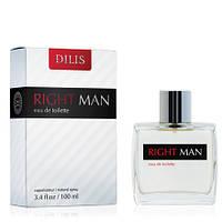 Туалетная вода мужская Dilis Right Man