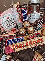 Подарок на учителю, подарочный набор, сладости, коробка-сюрприз, женский набор, подарок мужчине