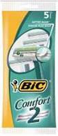 Станок для бритья BIC comfort 2 (5шт)