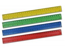 """Лінiйка  30 см, """"Tukzar"""" Tz-378 пластм.,кольорова ш.к.4690219027989"""