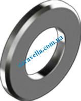 DIN 125 B, шайба плоская с фаской из нержавеющей стали