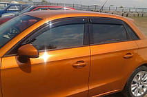 Дефлекторы окон Audi A1 Hb 5d 2012-2017