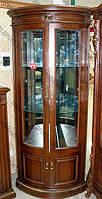 Угловая витрина в классическом стиле, гостиная classical 2805 (Классикал)