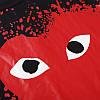 Футболка Comme des Garcons Play чорна (ком де гарсон з великим червоним серцем чоловіча жіноча), фото 8