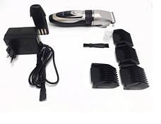 Машинка для стрижки волос Gemei GM-6066 | Два сменных аккумулятора, фото 3
