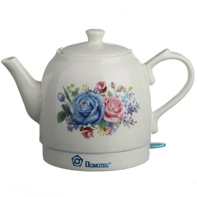 Електрочайник Domotec MS-5052 1,5 л | Чайник керамічний