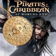 """Монета ацтеков из фильма """"Пираты Карибского моря"""", кулон «Монета ацтеков»"""