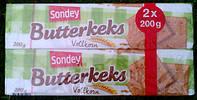 Печенье Sondey Butterkeks Vollkorn 200 g