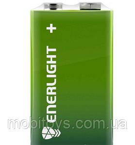 Батарейка ENERLIGHT MEGA POWER (6LR61 крона) Алкалайновые (БЛИСТЕР) 1 шт. / Ок 4823093503427