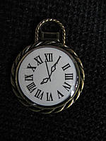 """Фурнитура металлическая """"Часы под склом"""", 25 мм, 25\16 (цена за 1 шт. +9 грн.)"""