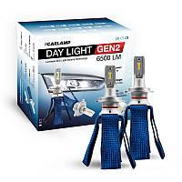 Светодиодные автолампы H7 CARLAMP Day Light GEN2 6000K 6500Lm ZES Led для авто (DLGH7), фото 1