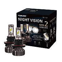 Светодиодные автолампы H13 Carlamp Led Night Vision Gen2 Led для авто 5000 Lm 5500 K (NVGH13), фото 1
