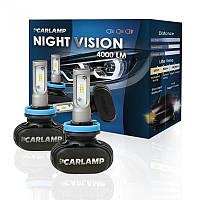 Светодиодные автолампы H13 CARLAMP Night Vision Led для авто 4000 Lm 6000 K (NVH13), фото 1