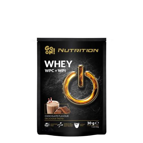 Протеин GoOn Whey WPC+ISO, 30 грамм Шоколад