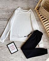 Спортивный костюм женский (свитшот + штаны). Модный женский спортивный костюм (штаны + реглан).