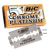 Лезвия для бритья BIC chrome platinum