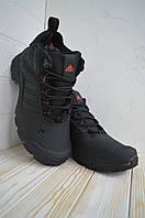 Тёплая обувь на зиму-осень Adidas Climaproof. Комфортные полуботинки Адидас Климапруф мужские.