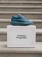 Матові кросівки Alexander McQueen Moss Matte. Жіноча комфортне взуття Олександр Маккуїн.