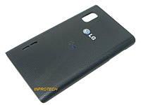 Задняя крышка LG E412 Optimus L5 Black