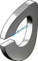 DIN 128 В, шайба пружинная волнистая из нержавейки