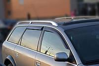 Дефлекторы окон Audi A6 Avant 1997-2004   Ветровики Ауди А6