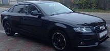 Дефлекторы окон Audi A4 Sd B8 2012-2015