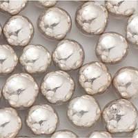 """Кулькі цукр d=7мм перламутрові """"SLADO"""" 100 г, срібні"""