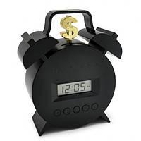 Будильник Банк копилка с приколом. Часы для дома. Оригинальные Будильники