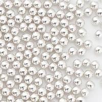 """Кулькі цукр d=3мм срібні """"SLADO"""" 100 г П503"""