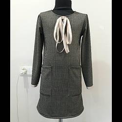 Тепле плаття для дівчинки підлітка