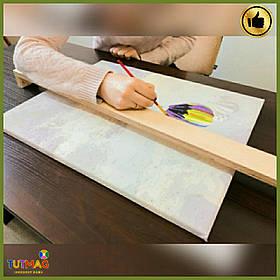 Хендхолдер - зручна дерев'яна підставка-фіксатор для рук художника
