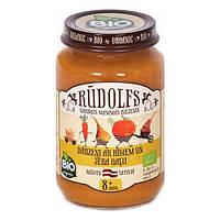 Пюре Rudolfs Овощи и рис с ягненком органическое 190 г ТМ: Rudolfs