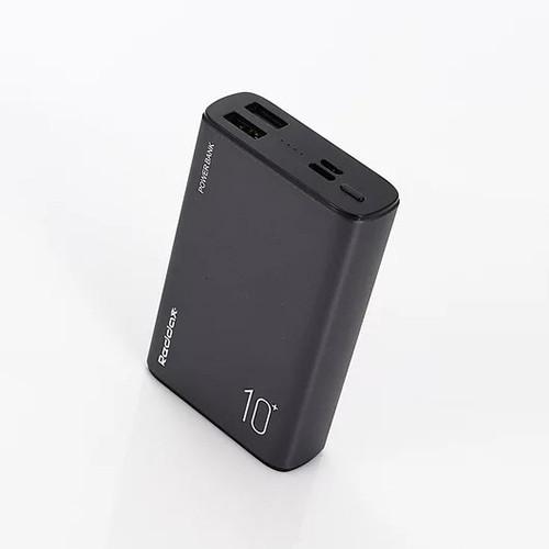 Power Bank Внешний аккумулятор 10000мАч 2xUSB Reddax RDX-256, черный