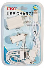Универсальное зарядное 12 в 1 Mobi charger MX-C12 с адаптерами
