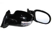 Зеркала наружные 3252 C Black глянец, с подсв.и указ.поворотов (пара)