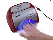 УФ лампа для ногтей сушилка 48Вт CCFL+LED UV таймер 18K