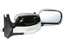 Зеркала наружные ВАЗ 2107 ЗБ-3107П Chrome сферич. с указ.пов. (пара)