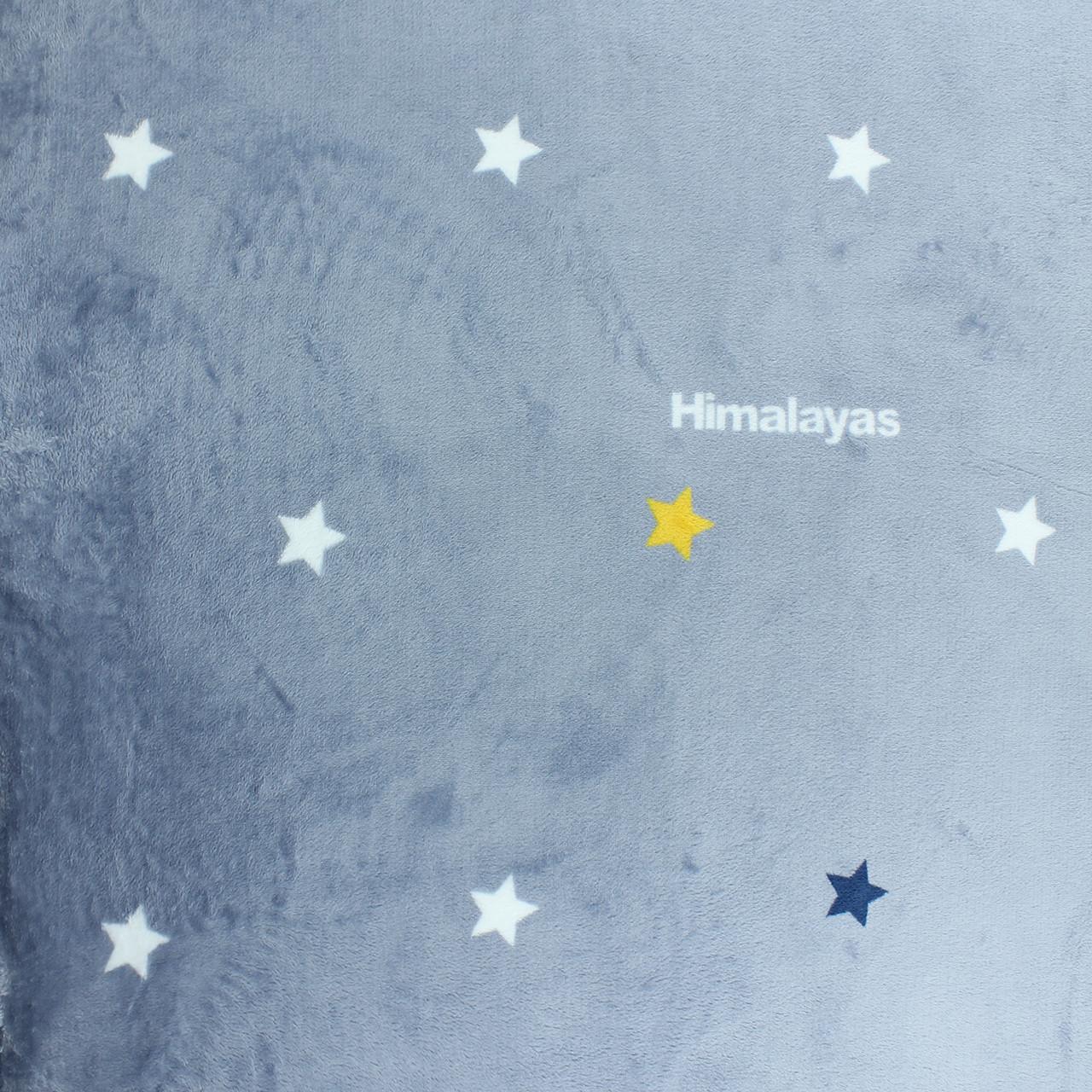 Плед со звездами для комнаты орнамент Himalayas