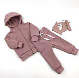 Теплый трикотажный костюм для малышей COOL (9 мес-4 года), фото 5